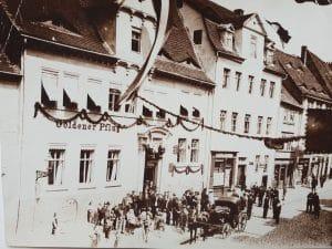 "Gründungsort Gaststätte ""Zum goldenen Pflug"""